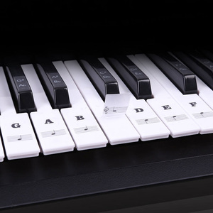 Piano Stickers for Keys Transp