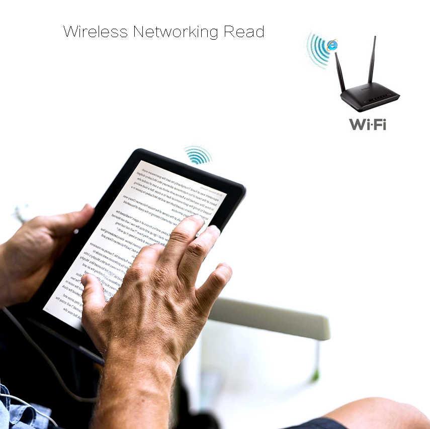 Lecteur de livre électronique intelligent Android sans fil WiFi lecteur numérique et 7 pouces écran tactile E-book 4000MHA grande batterie