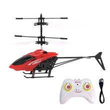 Toys Hobbies - Remote Control - Flying Mini RC Infraed Induction Helicopter Aircraft Flashing Light Toys For Kids H35 SEP18