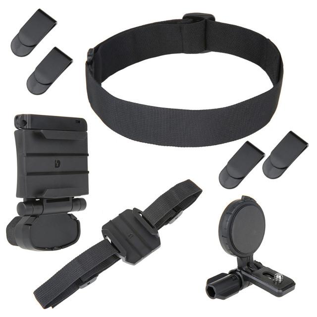 Cabezal universal kit de montaje para sony cámara de acción fdr-x1000vr hdr-as200v as100v as30v hdr-az1 as50v blt-uhm1