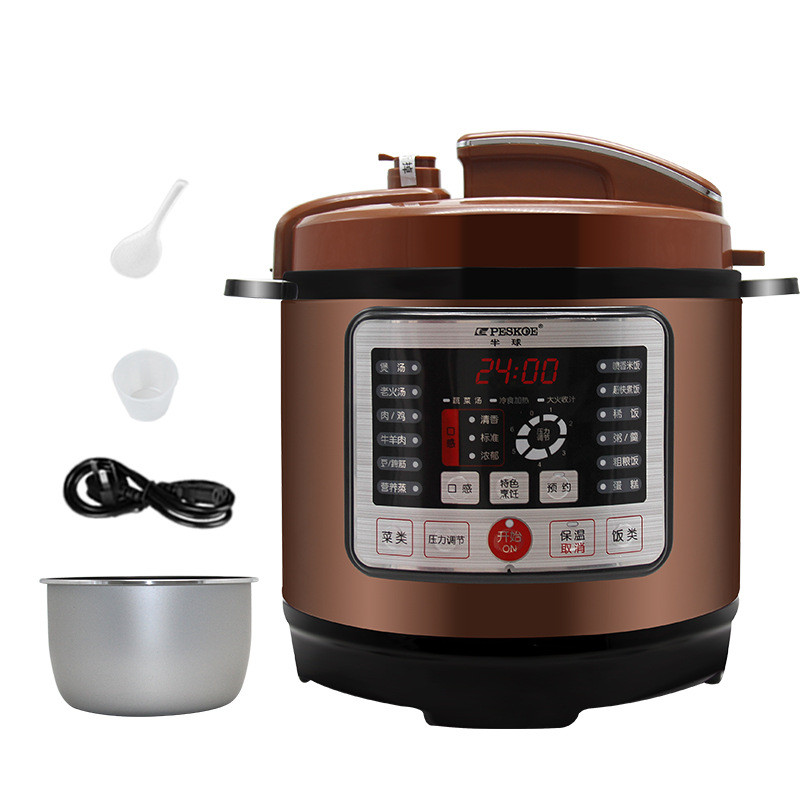 8L Instant Pot Nonstick Cooking Pot Multivarka Pressure Cooker Warmer Cooker for Control multivarka midea brand kitchen cooker with 24 hours preset 3 8mm inner pot and non stick auto keep warm precision steam cooker