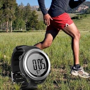 EZON T007 новые цифровые часы с пульсометром, будильником, секундомером, мужские и женские, для влюбленных, спортивные часы для бега на открытом ...