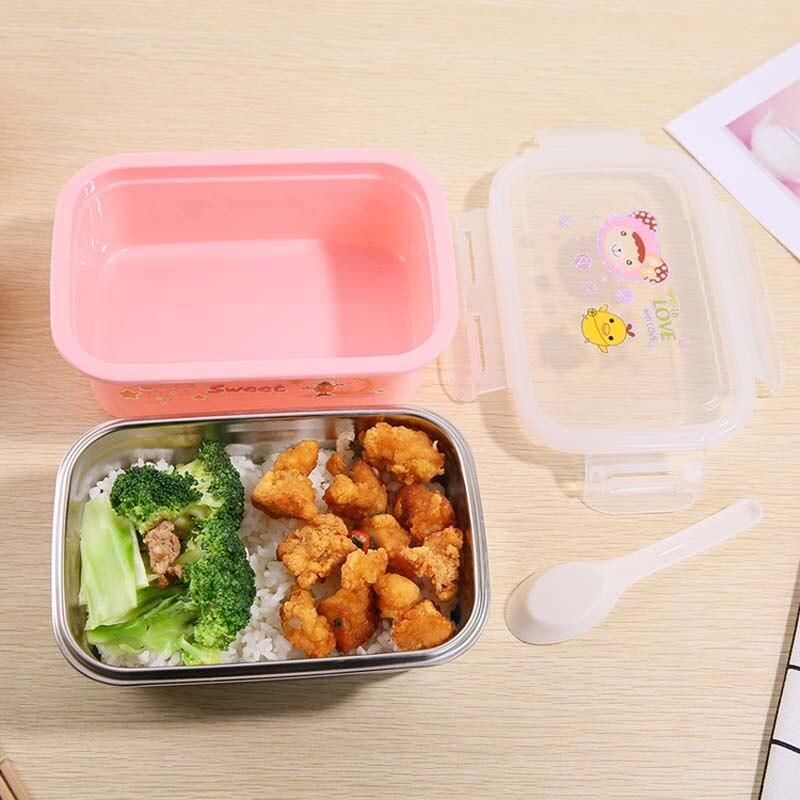 Portable Boîte Déjeuner paille de blé Picnic micro-ondes heathy Nourriture Conteneur de stockage