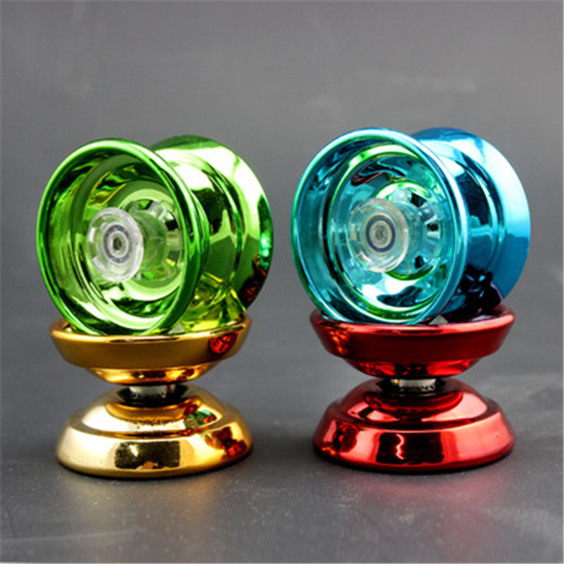 4 Colors Magic Yoyo Responsive High-speed Aluminum Alloy Yo-yo CNC Lathe With Spinning String For Boys Girls Children Kids