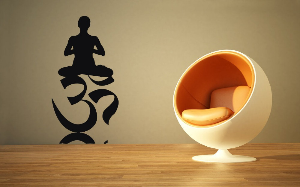 Yoga Wall Art online get cheap aum sticker -aliexpress | alibaba group