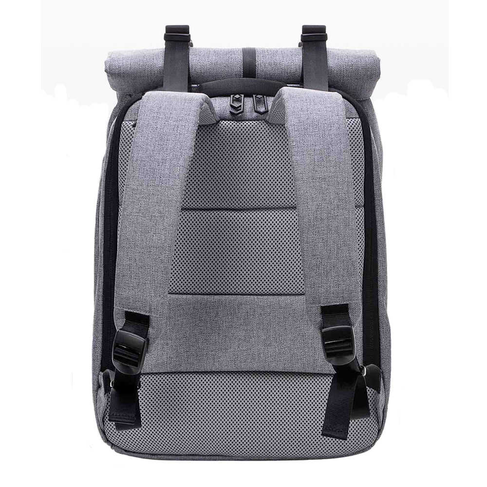 Mochila mi Original Xiaomi 90 Fun Leisure de 14 pulgadas, informal, de viaje, para ordenador portátil, mochila escolar para estudiantes universitarios, gris y azul