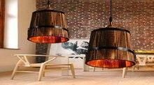 American Village bar chandelier lamp retro Chinese wine bar restaurant lights chandelier lamp American Continental light