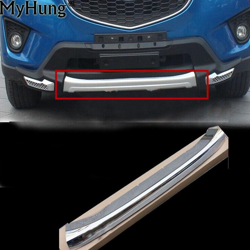 Car Styling Pare-chocs Avant Protecteur Tête Pare-chocs Seuil Garniture Pour Mazda Cx-5 Cx5 2012 2013-2016 Abs Chrome Accessoires De Voiture 1 Pc
