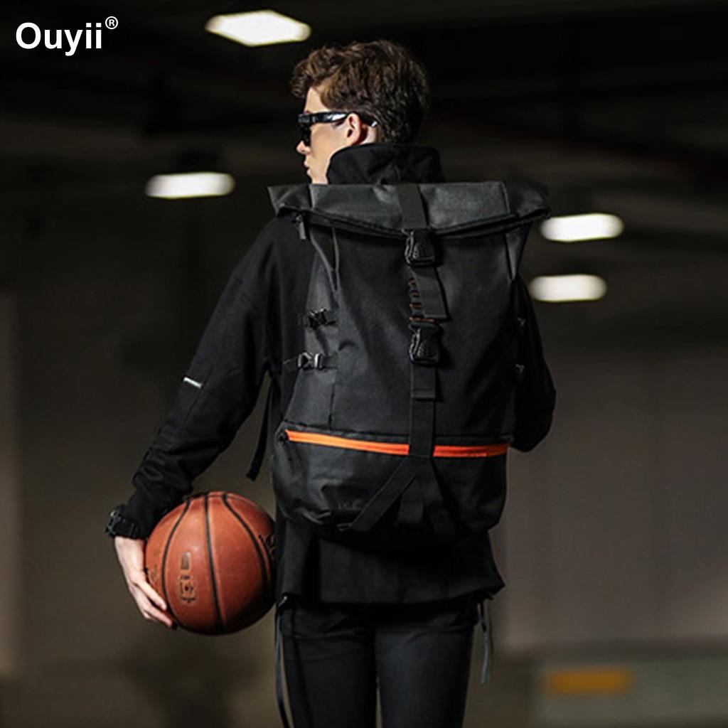 Sac à dos de basket-ball masculin sac de voyage de Sports de plein air sacs de Trekking d'escalade utilitaire multifonctionnel de grande capacité
