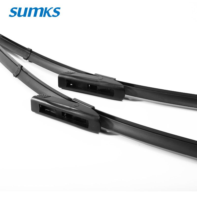 "Image 3 - SUMKS Wiper Blades for Renault Captur 26""&16"" Fit Bayonet / New Lock Type Arms 2013 2014 2015 2016 2017 2018-in Windscreen Wipers from Automobiles & Motorcycles"