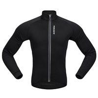 WOSAWE Men's Cycling Jackets Windproof Warm Fleece Winter MTB Bike Bicycle Riding Jersey Outdoor Sport Coat