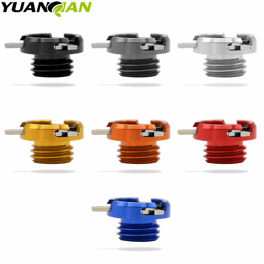 M20 2 5 new motorcycle CNC aluminum modified oil cap oil needle dirt bike Filler Cover Screw for honda ducati 5 colors in Levers Ropes Cables from Automobiles Motorcycles