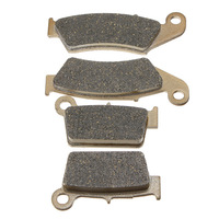 Front Rear Brake Pads For Yamaha YZ 125 250 1998 2002 WR 250 426F 01 02