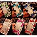 Красочный Кристалл Rhinestone Телефон Случаях Задняя Крышка для Xiaomi Mi5 Mi 4 S 4C 5S Плюс Примечание Макс для Xiaomi Redmi Note 4 3 Pro Случае