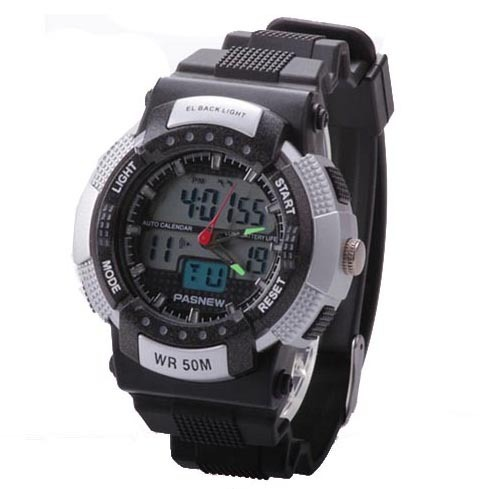 US $35 5 |Men's Boys Fashion Sport Watch 50M Water proof Wrist Watch Alarm  Hourly Chime Function Digital Wrist Watch-in Digital Watches from Watches