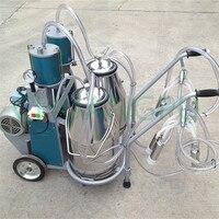 Full Automatic Portable Piston Pump Milking Machine for Cow