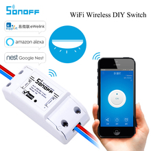Sonoff Smart Wifi Switch Intelligent Universal Wireless DIY Switch MQTT COAP Android IOS Remote Control Work with Alexa Nest