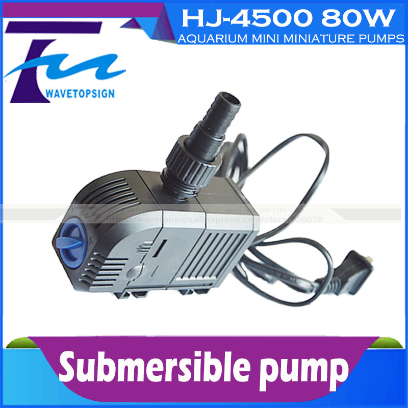 Submersible pump HJ-4500  80W/ tank pump / aquarium mini miniature pumps / circulation filter pump / filter ultra-quiet крем для рук yllozure yllozure yl001lwody58