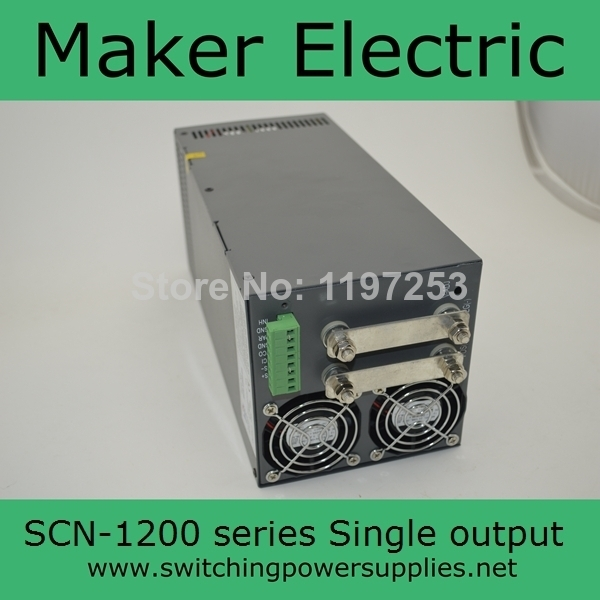 great power supply  48v 1200w SCN-1200-48  adjust the output voltage for CNC миксеры с чашей bork mi scn 9970 где в спб