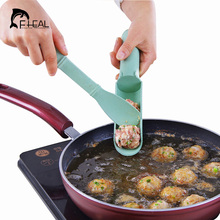 FHEAL 1Set DIY Convenient Meatball Maker Useful Pattie Fish Beaf Meat Balls Burger Sets Home Kitchen Accessories