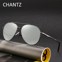 Fashion Mens Metal Photochromic Sunglasses 2018 Polarized Driving Sun Glasses for Men Okulary UV400 Lunette De Soleil Homme