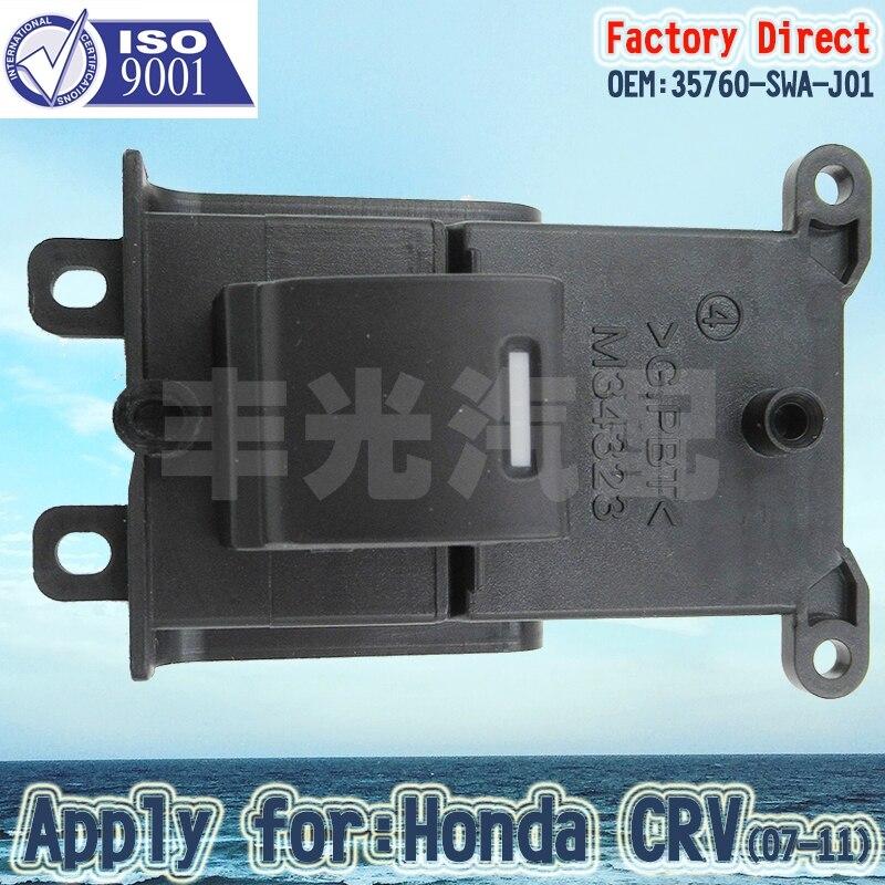Factory Direct Auto Power Window Switch Apply For Honda CRV PASSENGER Side 2007-2011 35760-SWA-J01 5Pins(3PCS/Lot)