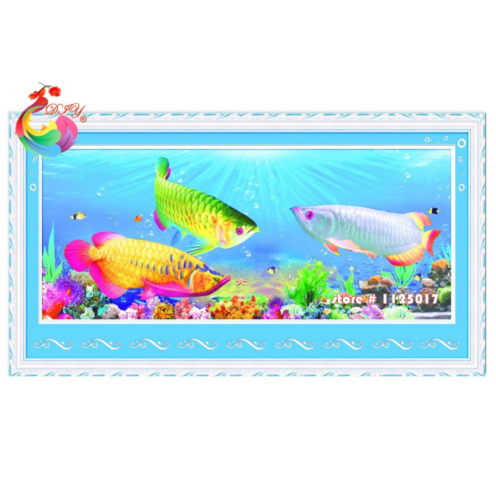 Online buy wholesale mosaic fish patterns from china for Tropical fish wholesale