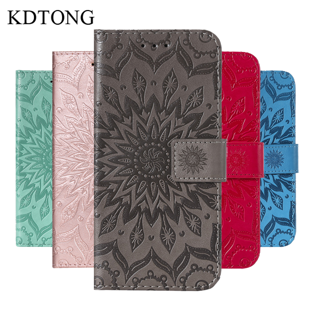 KDTONG Case sFor Cover iPhone XS Max XR Case Embossing Flip Leather Magnetic Wallet Cover For iPhone X XS XR Case Phone Bags