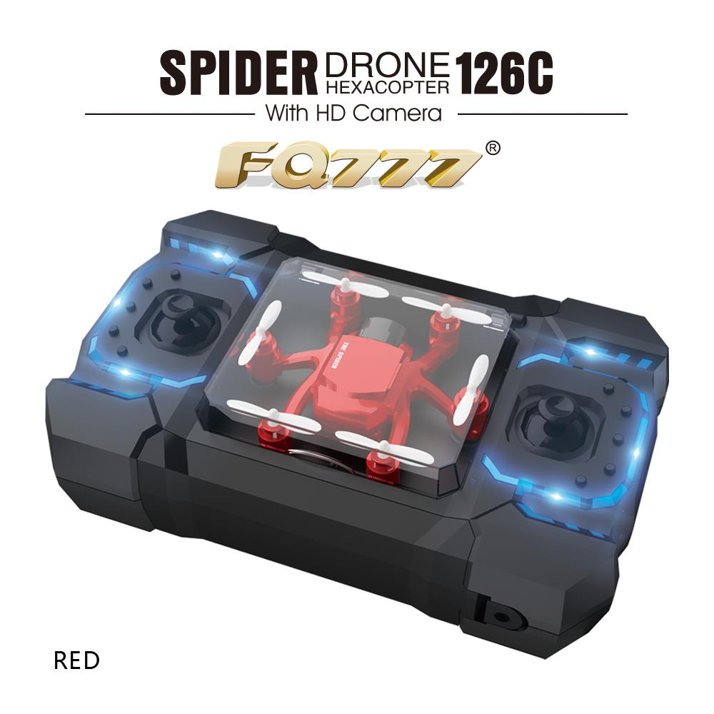 2.4G 4CH Six Axis Ultra Pocket Mini Nano RC Drones Quadcopter 2.0MP HD Camera 3D Rolling Headless Mode RC Helicopters