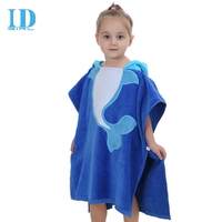 2017 Spring And Autumn Children S New Bathrobe Cute Modeling Baby Absorbent Cotton Super Soft Cloak