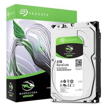 "Seagate 2TB Desktop HDD Internal Hard Disk Drive Original 3.5 "" 2 TB 7200RPM SATA 6Gb/s Hard Drive For Computer ST2000DM008 Internal Hard Drives"