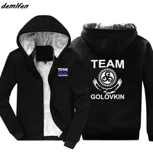 57354b0f71d GGG Gennady Golovkin Team Boxinger hoodies Cool Casual zipper Keep warm  Sweatshirt Fashion Print Jacket hoody