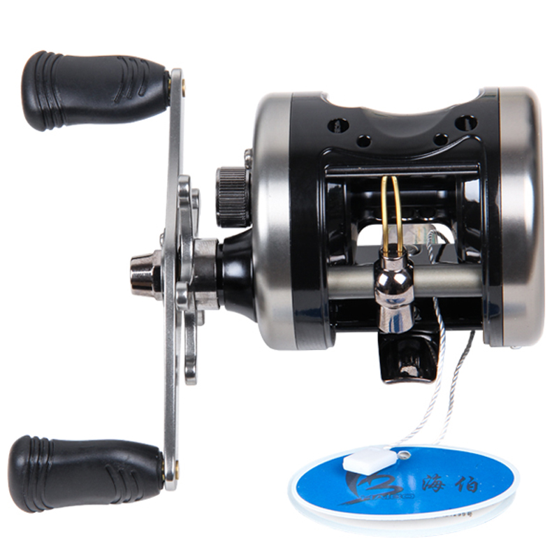 HAIBO Brand Cast Drum Wheel Right Hand Trolling Boat Fishing Reel SNAILR  295g 5 Bearings Full Metal Structure children early education drum music educational instrument combination 5 joy woolly waist drum hand bell trumpet baby
