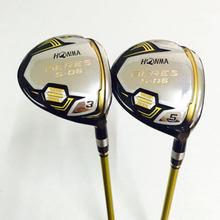 New mens golf clubs wood Honma S-06 3 star golf fariway wood 3/15 5/18 Wood clubs graphite golf shaft R S SR flex free shipping(China)