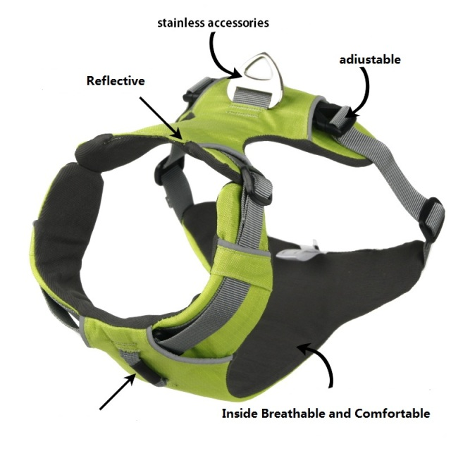 Professional Reflective Dog Harness