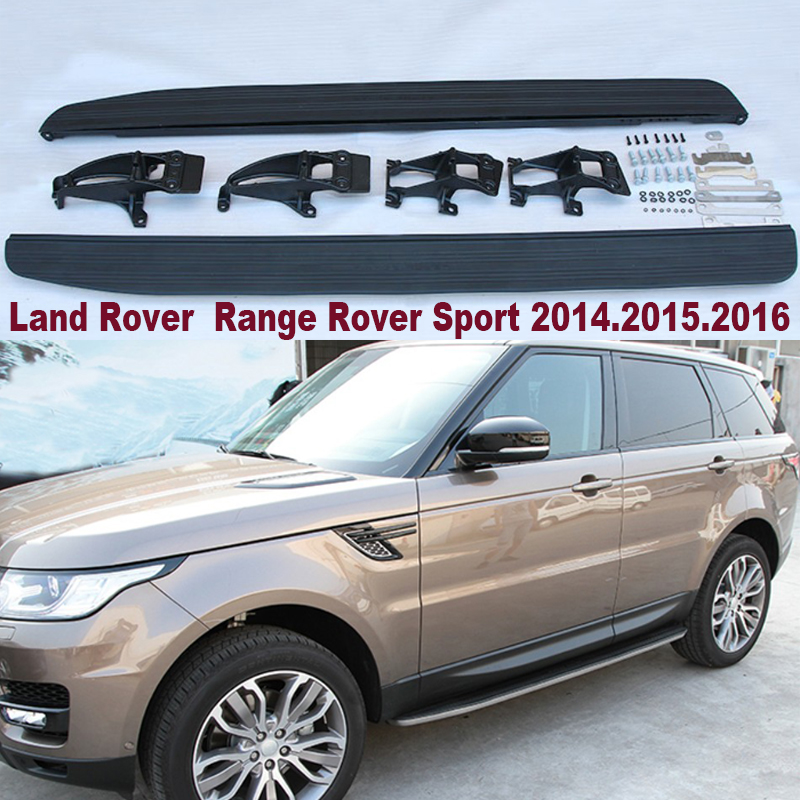 For LAND ROVER Range Rover Sport 2014.2015.2016.2017 Car Running Boards Auto Side Step High Quality Brand New Bar Pedals