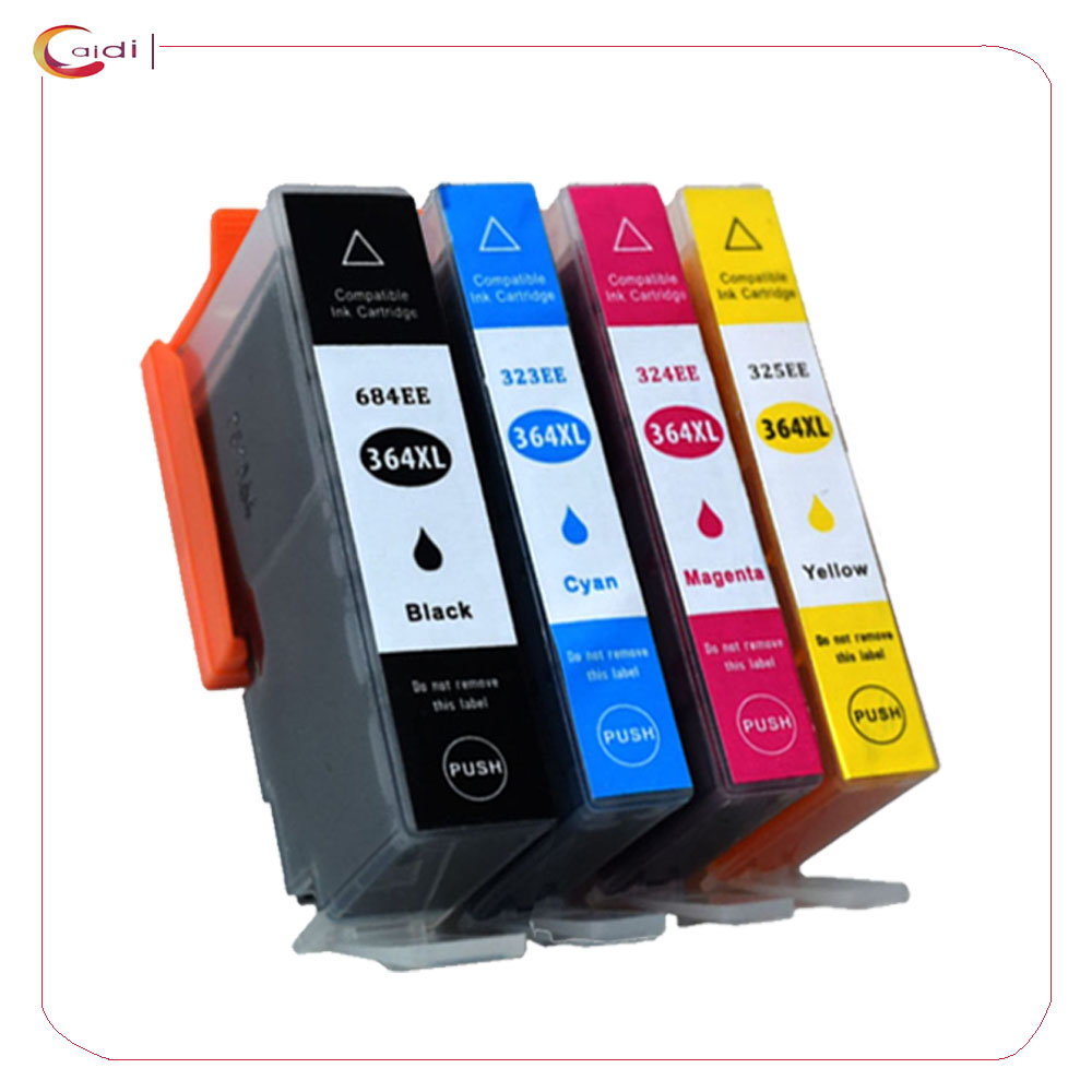 4Pack Compatible Ink Cartridges for <font><b>HP</b></font> <font><b>364XL</b></font> <font><b>HP</b></font> Photosmart 5510 5511 5512 5514 5515 5520 5522 5524 6510 6520 6512 6515 7510 7520 image