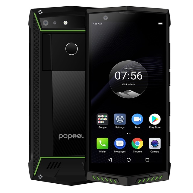 Купить POPTEL P60 Face ID IP68 Водонепроницаемый мобильный телефон 5,7