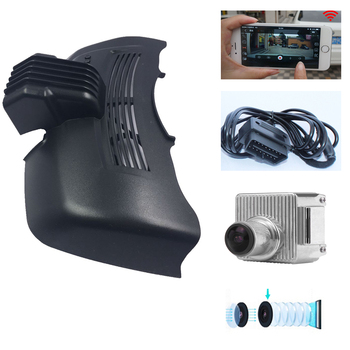 PLUSOBD For Benz S 221 High Configuration Special DVR Hidden OEM Style Hidden Design HD 1080P Car Camera WIFI Android IOS App фото