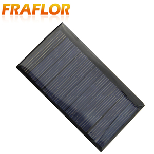 Image 2 - Fraflor 10Pcs 0.42Watt 5.5V Solar Panel For Battery Charger 80*45*3mm Free Shipping Portable Solar Cell Emergency Power Supply