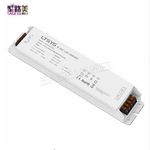 LTECH AD-150-24-F1M1 0/1-10V dimming driver AC100-240V input 24V 6.2A 150W output Constant Voltage Led Driver Free Shipping цена и фото