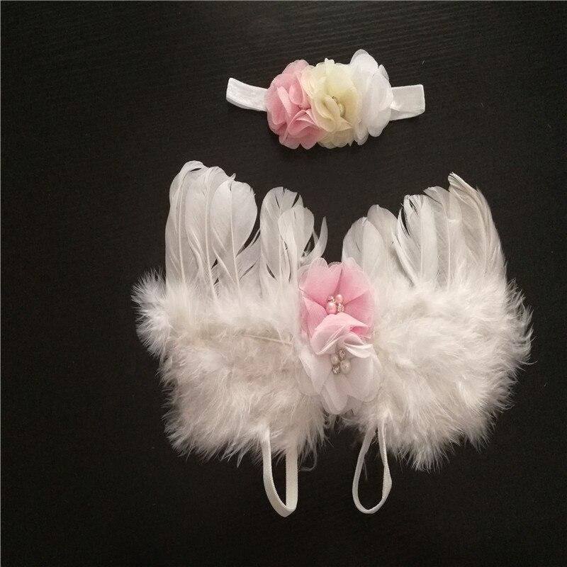 Милый ребенок крылья угол реквизит аксессуары новорожденных Подставки для фотографий для новорожденных фотографии костюм Photographie ребенка ...