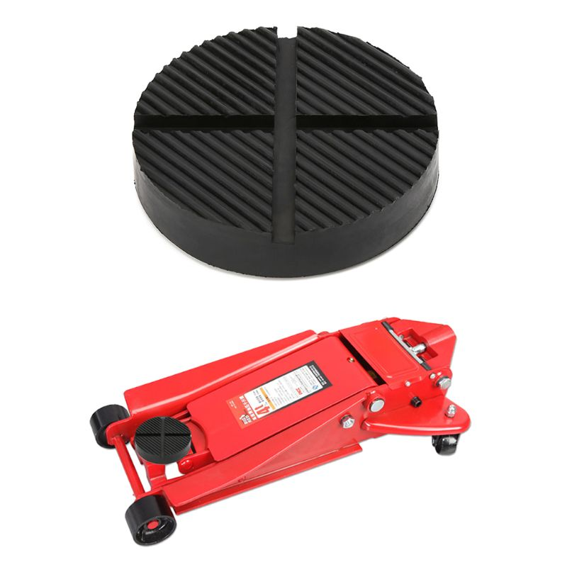 Universal Floor Jack Disk Rubber Pad Adapter Pinch Weld Side JACK PAD 12.5CM X1