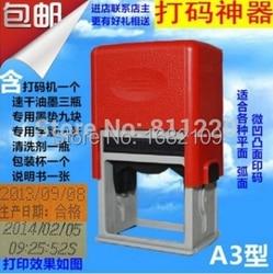 Date codes printing tools pad printer