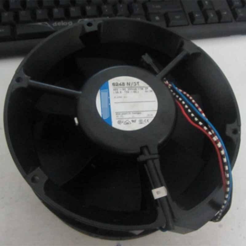 For Ebmpapst 6248N/3T 172*172*51MM 48V 0.37A 18W Cooling Fan Processor Cooler Master Heatsink FanFor Ebmpapst 6248N/3T 172*172*51MM 48V 0.37A 18W Cooling Fan Processor Cooler Master Heatsink Fan