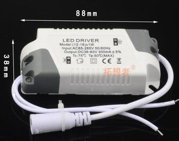 300MA Stable Quality Power Supply LED DriverTransformer Switch For Different PowerLED Lights 1-36w 1w 36w 18w 25w 12w