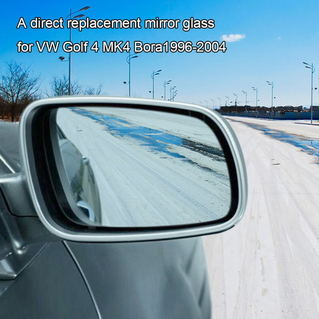Rightleft Side Door Wing Mirror Glass With Heated Function For Vw