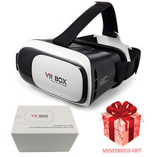 2016 NEW Google Cardboard HD VR BOX II 2.0 Virtual Reality 3D Glasses Smartphones 3.5-6.0 Inch Smart And 3.0 Bluetooth Gamepad