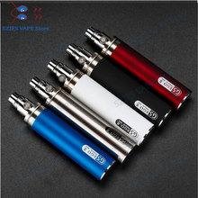 Oryginalny GS Ego II 2200 mAh bateria do e-papierosa do Ego CE4 atomizery bateria e-papieros vs GS Ego II 2300 Mah bateria tanie tanio SUB TWO Z Baterią 3200mah eGo II 3200mah Cylindryczny Kształt eGo II 2200 3200mah Metal Wbudowany 1 2V