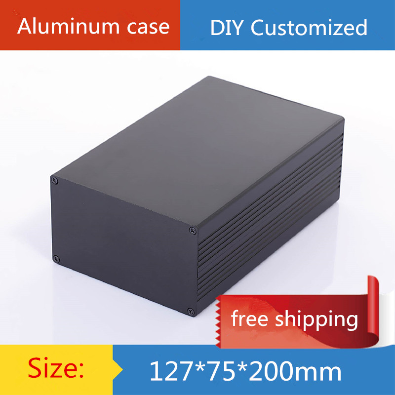 ᐊMini amplificador chasis de aluminio/Potencia Shell/caja de ...